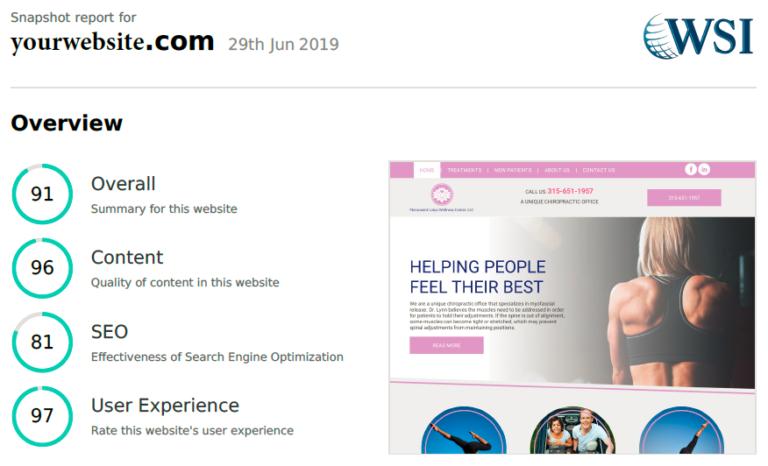 Website Audit Summary